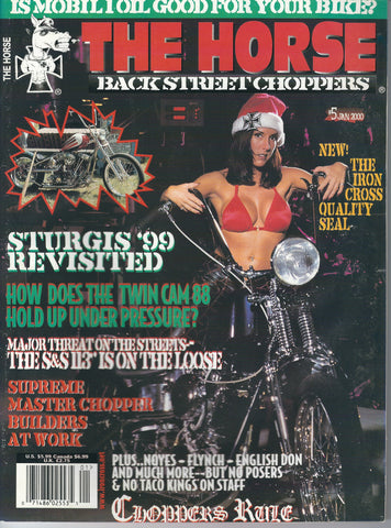 The Horse BackStreet Choppers Magazine Issue #5