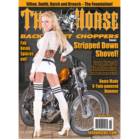 The Horse BackStreet Choppers Magazine Issue #108