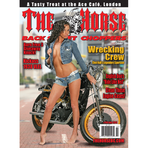 The Horse BackStreet Choppers Magazine Issue #110