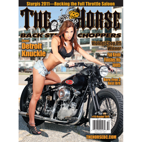 The Horse BackStreet Choppers Magazine Issue #113