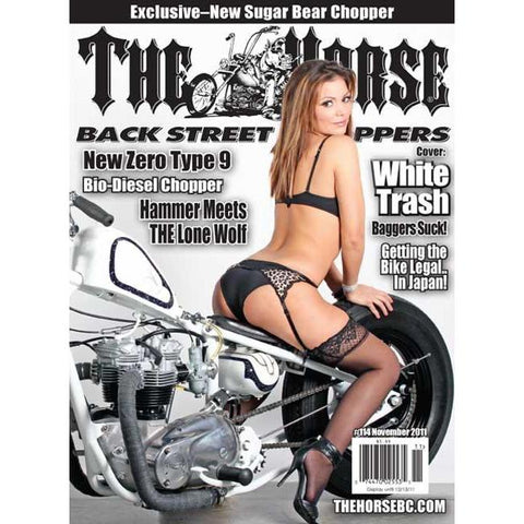 The Horse BackStreet Choppers Magazine Issue #114