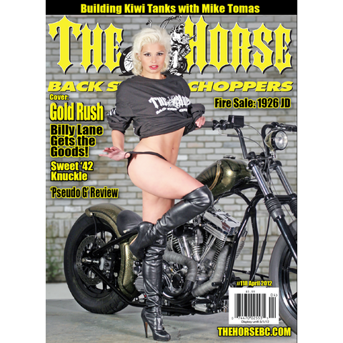 The Horse BackStreet Choppers Magazine Issue #118