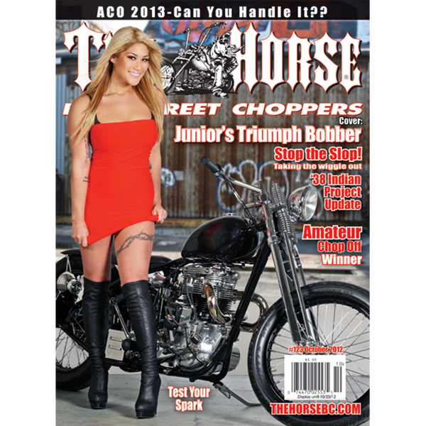 The Horse BackStreet Choppers Magazine Issue #123