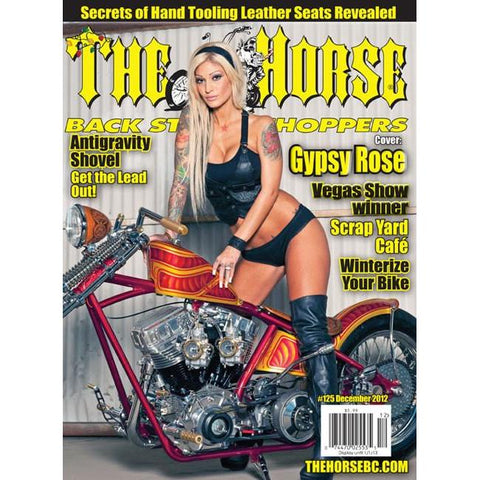 The Horse BackStreet Choppers Magazine Issue #125