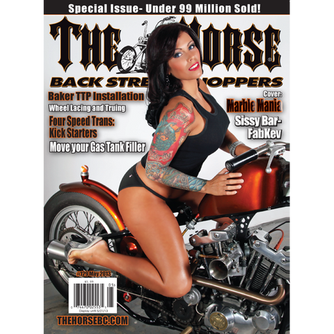 The Horse BackStreet Choppers Magazine Issue #129