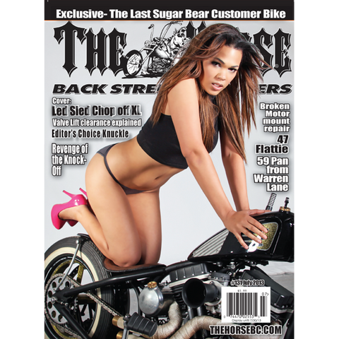 The Horse BackStreet Choppers Magazine Issue #131