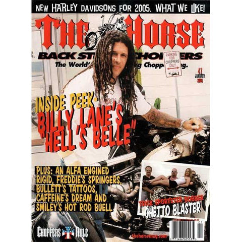 The Horse BackStreet Choppers Magazine Issue #47