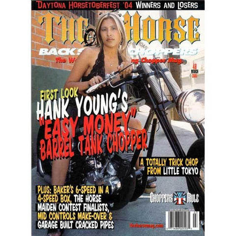 The Horse BackStreet Choppers Magazine Issue #48