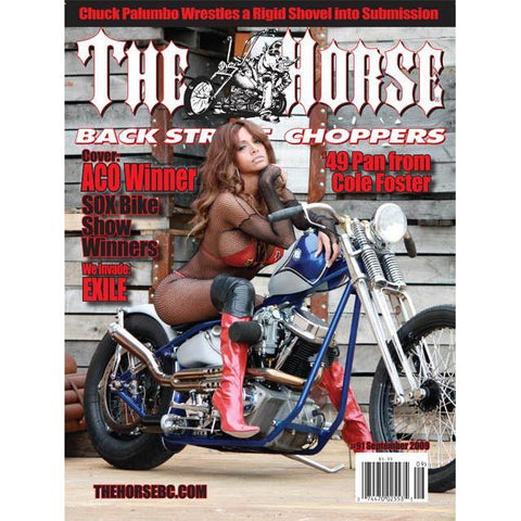 The Horse BackStreet Choppers Magazine Issue #91