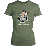 """Iron Horse Logo"" Lady's T-Shirt"