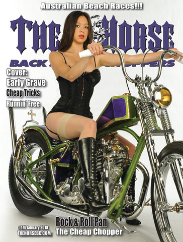 The Horse BackStreet Choppers Magazine Issue #174