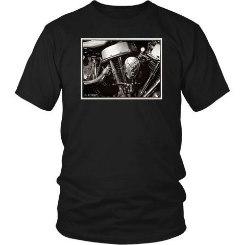 "D.Fitch: Harley Panhead ""Love"" T-shirt"