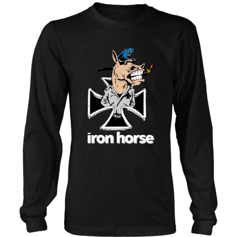 """Iron Horse Logo"" Long Sleeve Shirt"