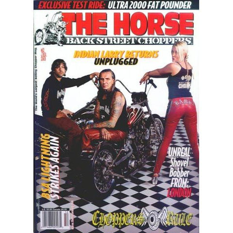 The Horse BackStreet Choppers Magazine Issue #12