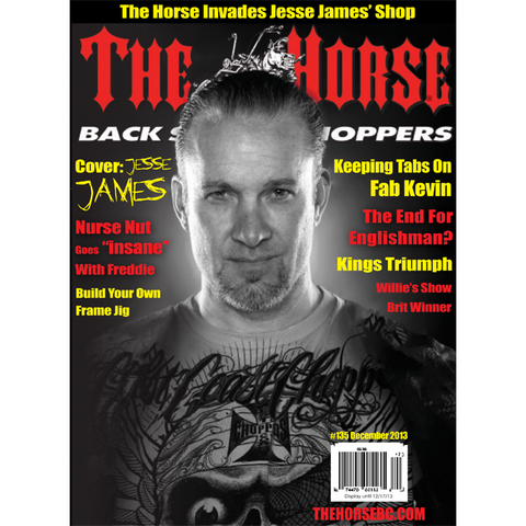 The Horse BackStreet Choppers Magazine Issue #135