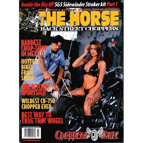 The Horse BackStreet Choppers Magazine Issue #13