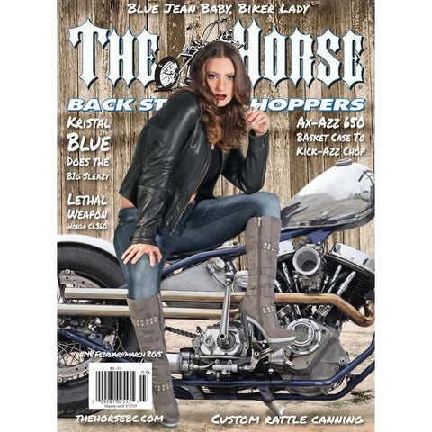 The Horse BackStreet Choppers Magazine Issue #148