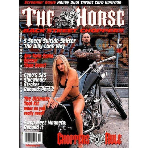 The Horse BackStreet Choppers Magazine Issue #14