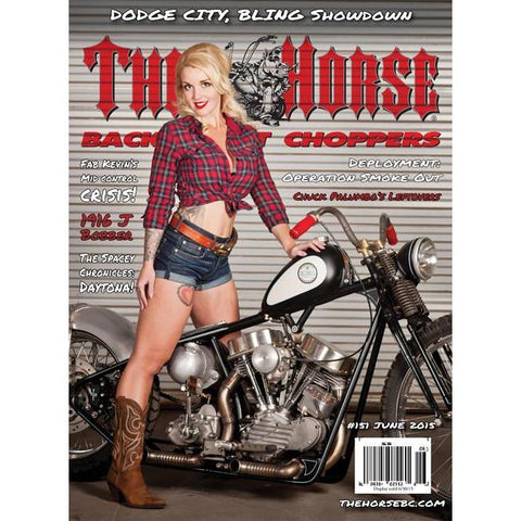 The Horse BackStreet Choppers Magazine Issue #151