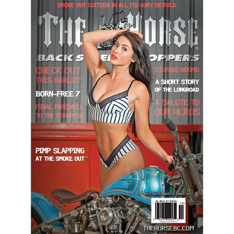 The Horse BackStreet Choppers Magazine Issue #154