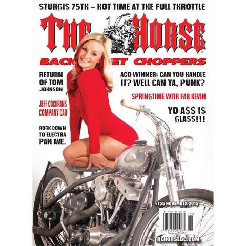 The Horse BackStreet Choppers Magazine Issue #155