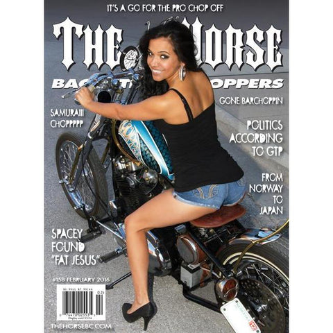 The Horse BackStreet Choppers Magazine Issue #158
