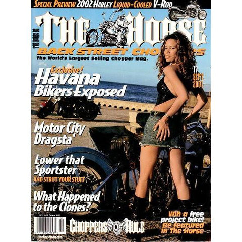 The Horse BackStreet Choppers Magazine Issue #17