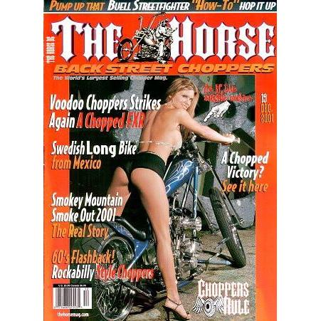 The Horse BackStreet Choppers Magazine Issue #19