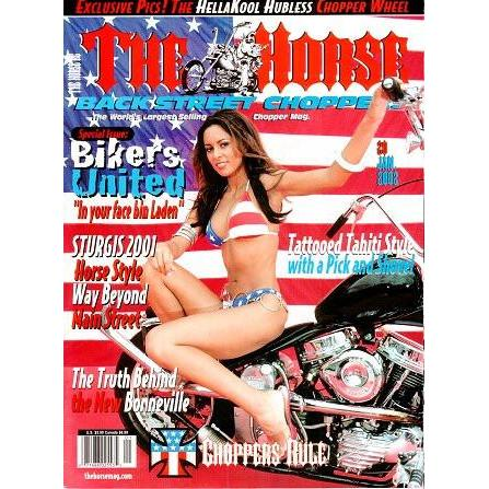 The Horse BackStreet Choppers Magazine Issue #20