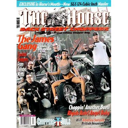The Horse BackStreet Choppers Magazine Issue #21