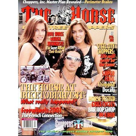 The Horse BackStreet Choppers Magazine Issue #22