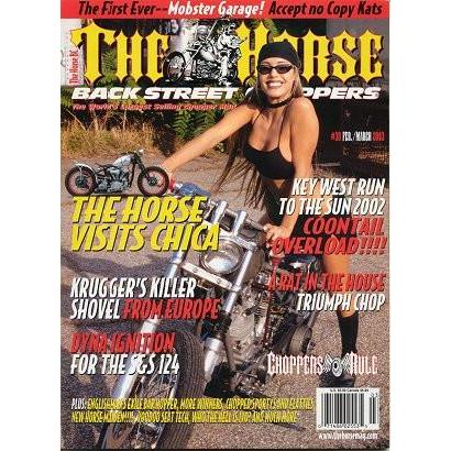 The Horse BackStreet Choppers Magazine Issue #30