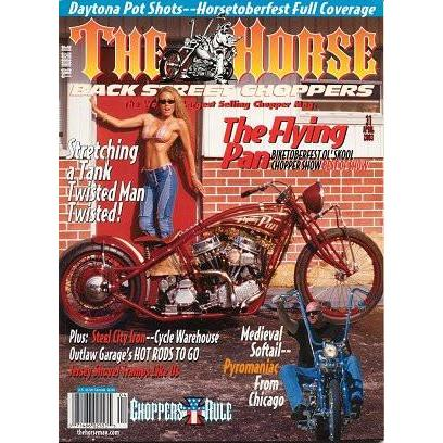 The Horse BackStreet Choppers Magazine Issue #31