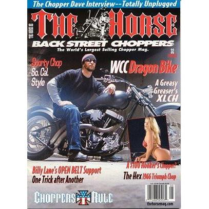The Horse BackStreet Choppers Magazine Issue #32