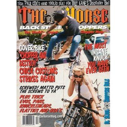 The Horse BackStreet Choppers Magazine Issue #37