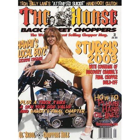 The Horse BackStreet Choppers Magazine Issue #38