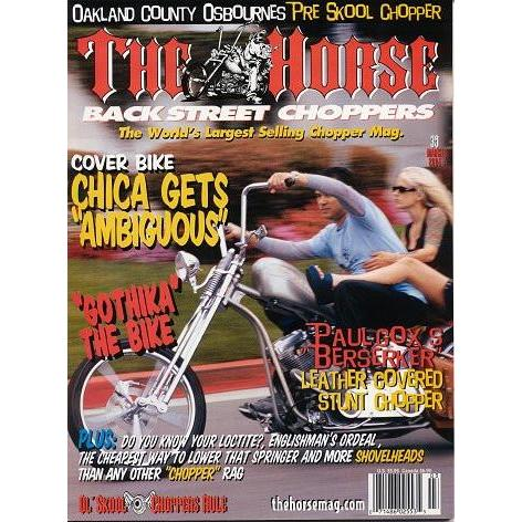The Horse BackStreet Choppers Magazine Issue #39