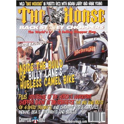 The Horse BackStreet Choppers Magazine Issue #41