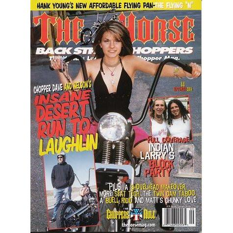 The Horse BackStreet Choppers Magazine Issue #44