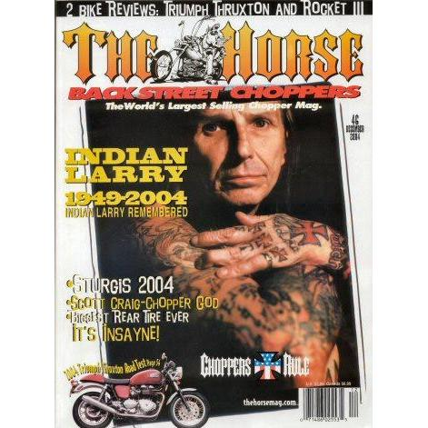 The Horse BackStreet Choppers Magazine Issue #46
