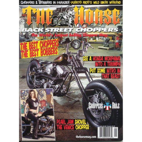 The Horse BackStreet Choppers Magazine Issue #50