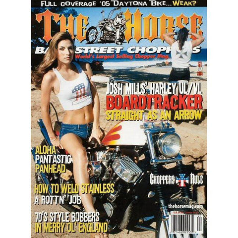The Horse BackStreet Choppers Magazine Issue #51