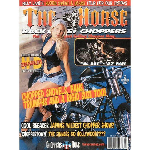 The Horse BackStreet Choppers Magazine Issue #53