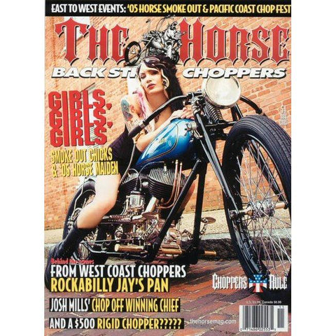 The Horse BackStreet Choppers Magazine Issue #54