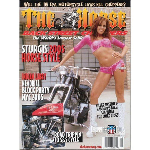 The Horse BackStreet Choppers Magazine Issue #55