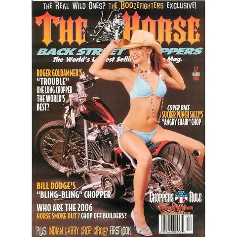 The Horse BackStreet Choppers Magazine Issue #57