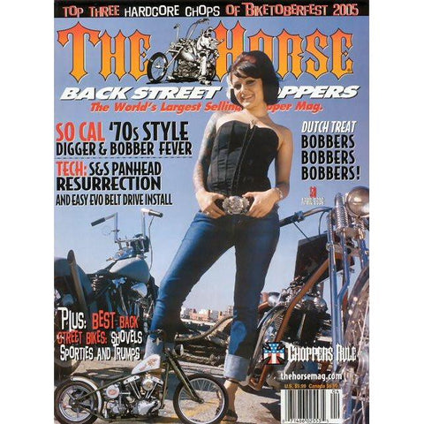 The Horse BackStreet Choppers Magazine Issue #58