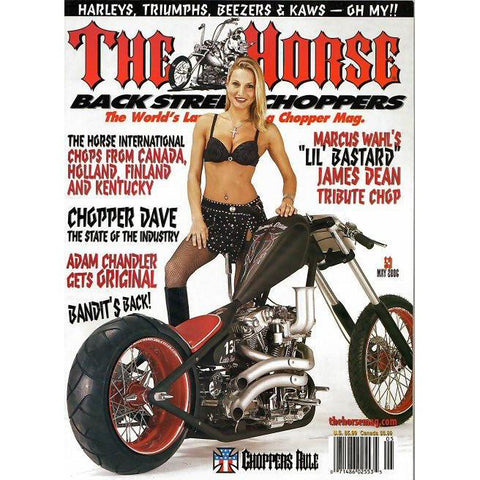 The Horse BackStreet Choppers Magazine Issue #59