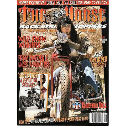 The Horse BackStreet Choppers Magazine Issue #62
