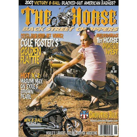 The Horse BackStreet Choppers Magazine Issue #65